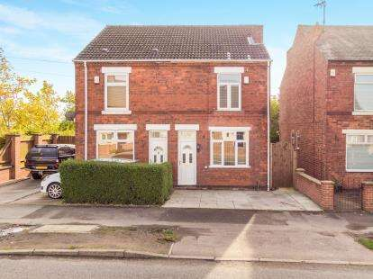 3 Bedrooms Semi Detached House for sale in Carter Lane East, South Normanton, Alfreton, Derbyshire