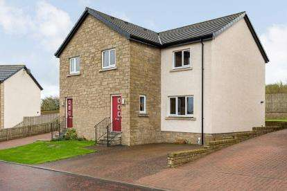 3 Bedrooms Semi Detached House for sale in Red Rose Way, Tarbolton
