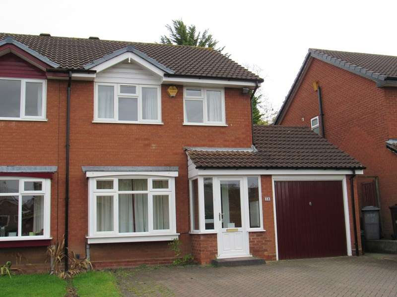 3 Bedrooms Semi Detached House for sale in Shelsley Way, Hillfield, Solihull
