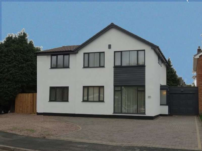 5 Bedrooms Detached House for sale in Penns Lane, Walmley, Sutton Coldfield, B76 1NE