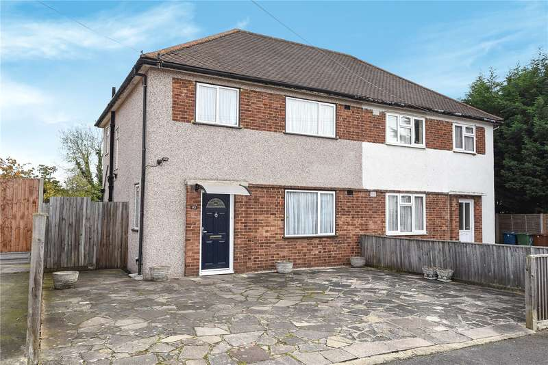 3 Bedrooms Semi Detached House for sale in Sandymount Avenue, Stanmore, Middlesex, HA7