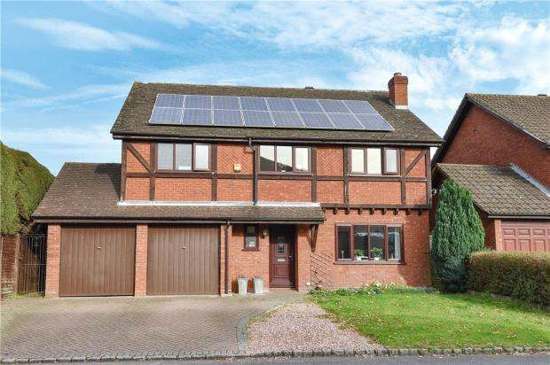 5 Bedrooms Detached House for sale in Evesham Walk, Heath Park, Sandhurst