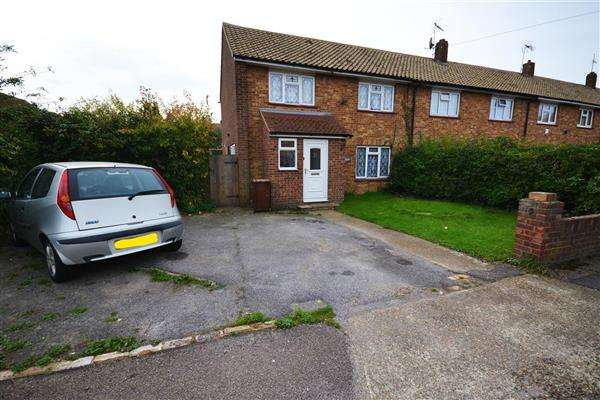 3 Bedrooms End Of Terrace House for sale in Seaborough Road, Chadwell St.Mary