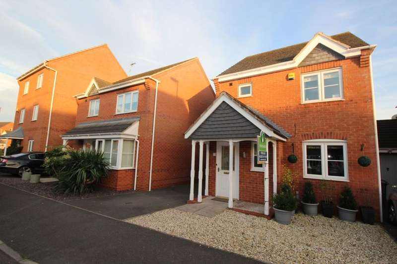 3 Bedrooms Detached House for sale in Avon Way, Hilton, Derby, DE65