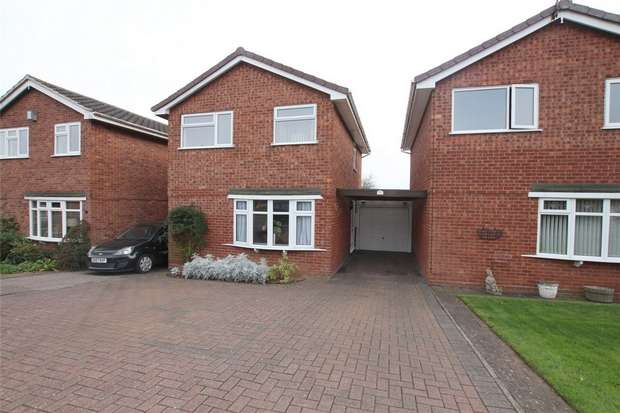 3 Bedrooms Link Detached House for sale in Giles Road, Lichfield, Staffordshire