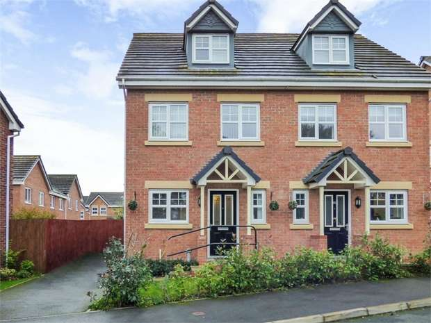 4 Bedrooms Semi Detached House for sale in Bryn Coch, Wrexham
