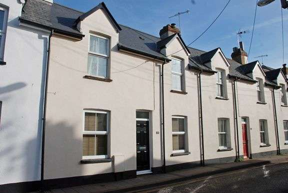 3 Bedrooms Terraced House for sale in Town Centre, Sidmouth