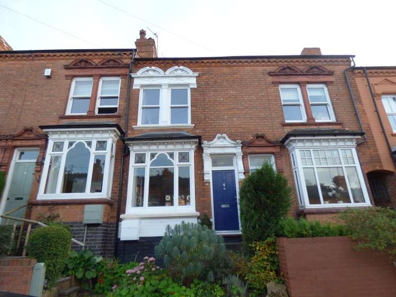 3 Bedrooms Terraced House for sale in Hartledon Road, Harborne, Birmingham, B17 0AD