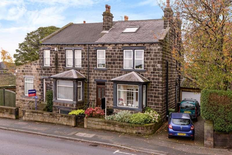 5 Bedrooms Semi Detached House for sale in Harrogate Road, Yeadon, Leeds, LS19 7BP