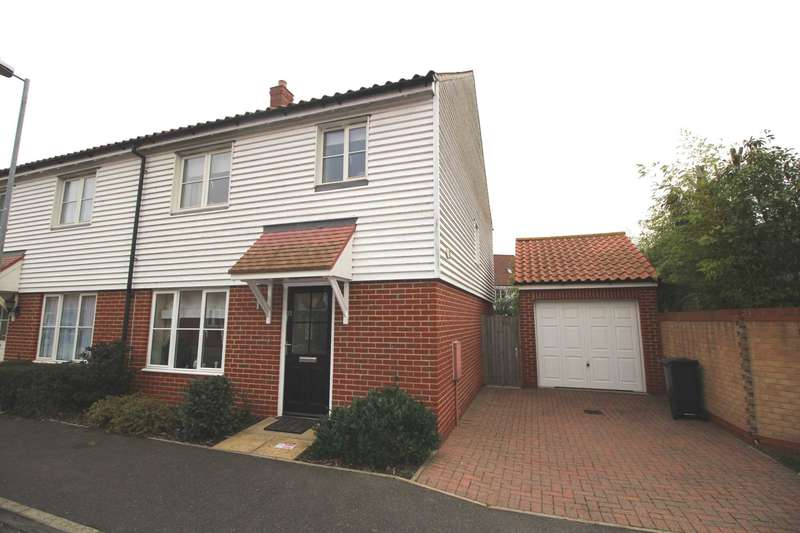 3 Bedrooms Semi Detached House for sale in Oliver Close, Heybridge