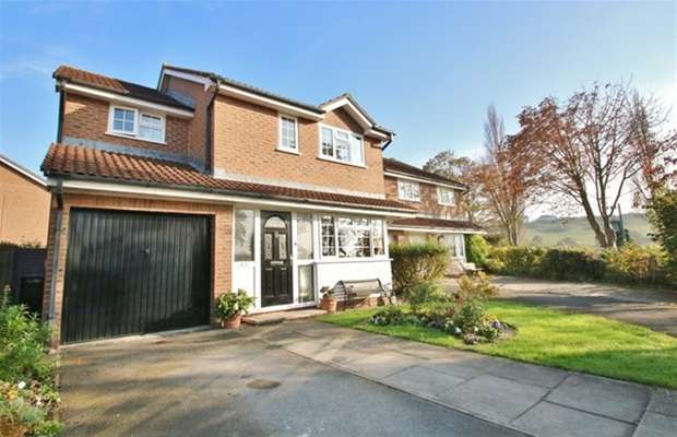4 Bedrooms Detached House for sale in Palmers Road, Glastonbury, Somerset