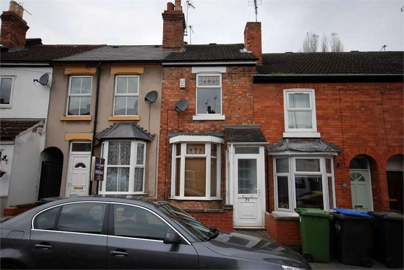 2 Bedrooms Terraced House for sale in Cambridge Street, RUGBY, Warwickshire