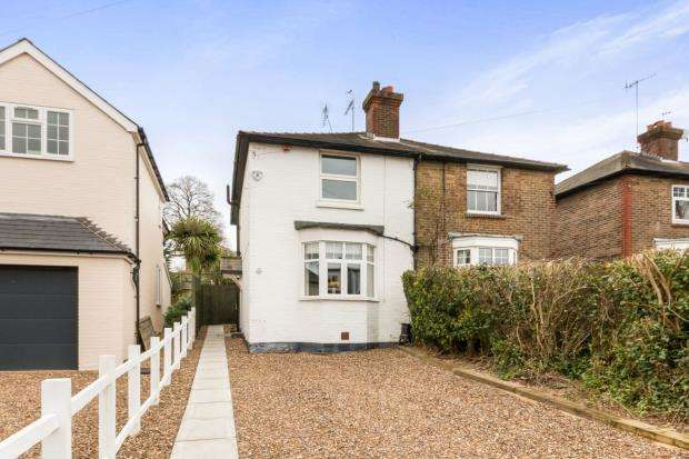 3 Bedrooms Semi Detached House for sale in Cobham, Surrey