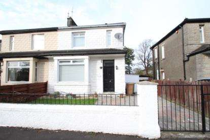 3 Bedrooms Semi Detached House for sale in Braidfauld Place, Tollcross, Glasgow