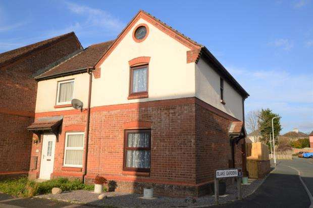 2 Bedrooms End Of Terrace House for sale in Carroll Road, Plymouth, Devon