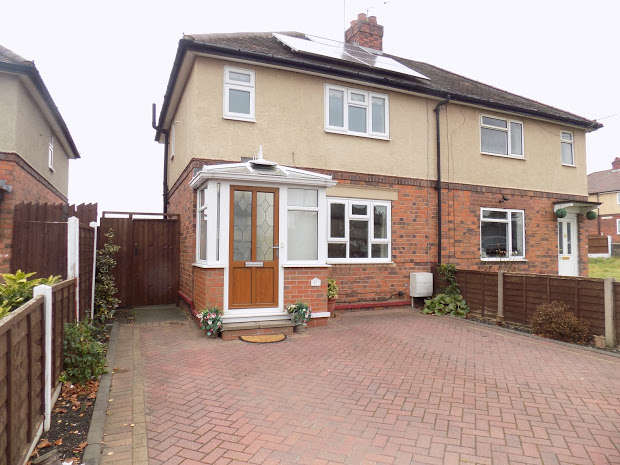 2 Bedrooms Semi Detached House for sale in BRIERLEY HILL, West Midlands, DY5