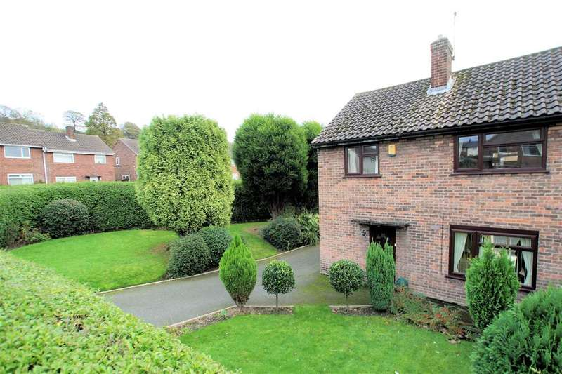 3 Bedrooms Semi Detached House for sale in Edge View Road, Baddeley Green, Stoke on Trent