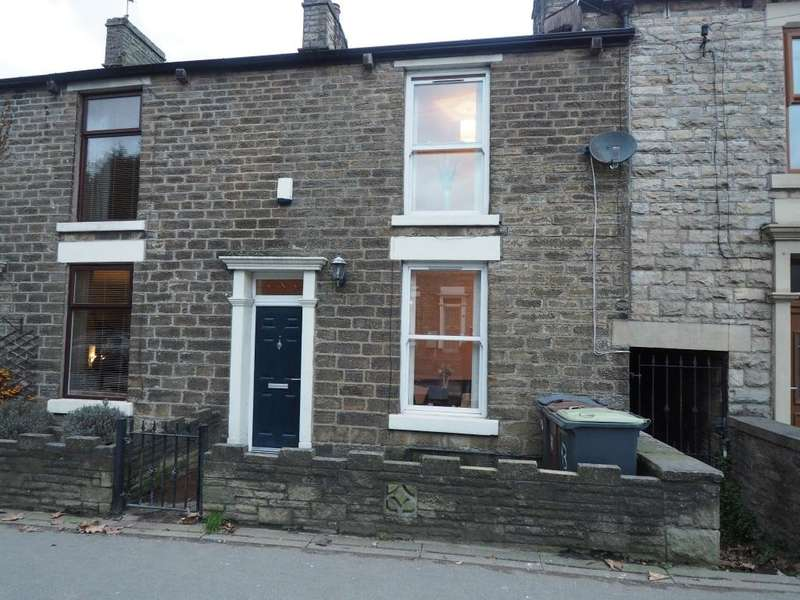 3 Bedrooms Terraced House for sale in Low Leighton Road, New Mills, High Peak, Derbyshire, SK22 4PJ