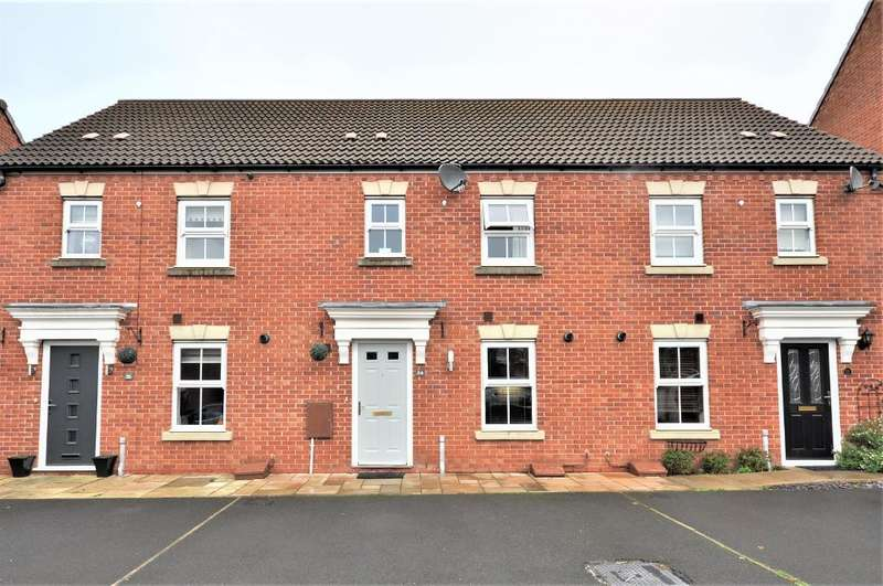 3 Bedrooms Mews House for sale in Quins Croft, Leyland, Preston, Lancashire, PR25 3UX