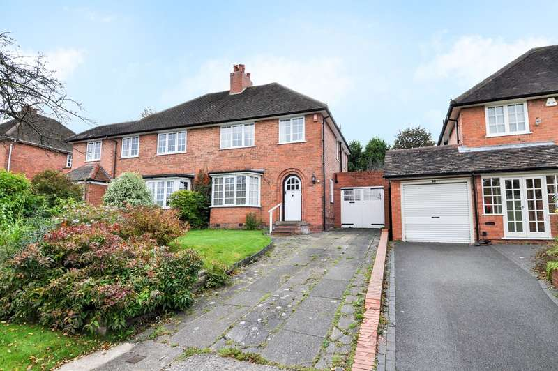 3 Bedrooms Semi Detached House for sale in Hemyock Road, Bournville Village Trust, Birmingham, B29