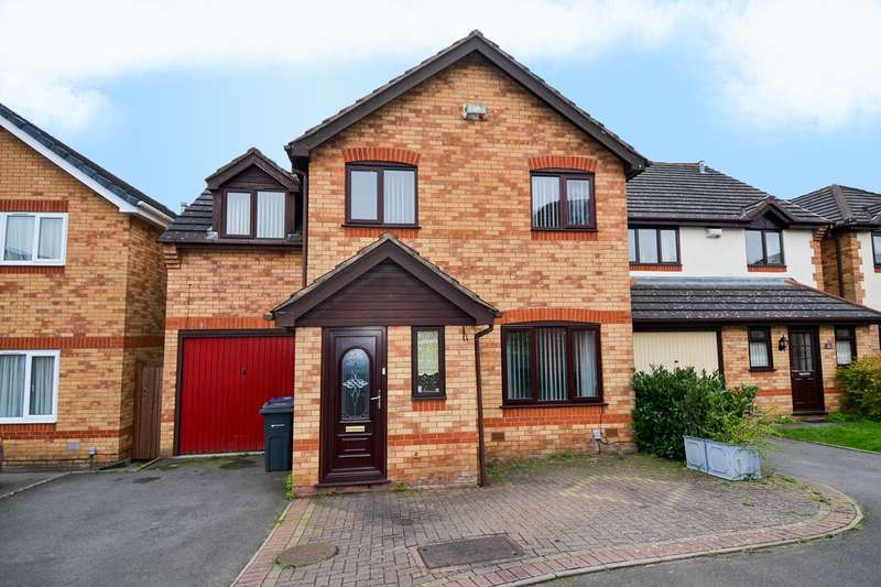 4 Bedrooms Detached House for sale in Bishops Gate, Northfield, Birmingham, B31