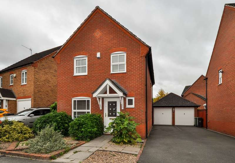 3 Bedrooms Link Detached House for sale in Rosedale Close, Brockhill, Redditch, B97