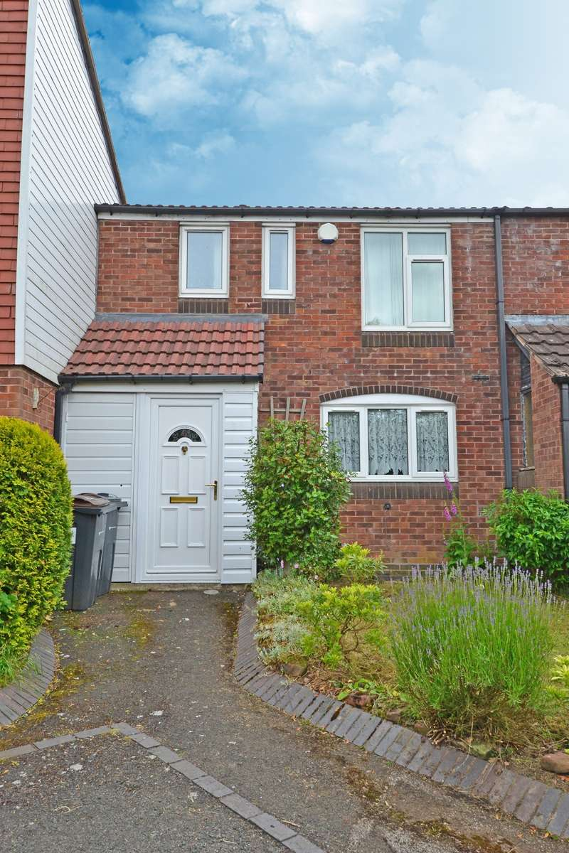 2 Bedrooms Terraced House for sale in Jubilee Road, Rednal, Birmingham, B45