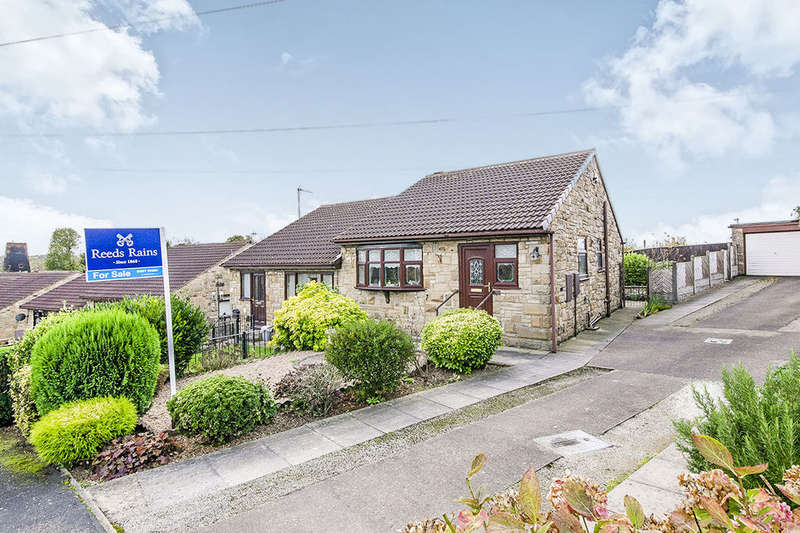 2 Bedrooms Semi Detached Bungalow for sale in Dulverton Way, Pontefract, WF8