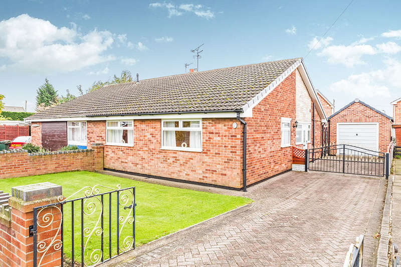 3 Bedrooms Semi Detached Bungalow for sale in Ravenfield Road, Armthorpe, Doncaster, DN3