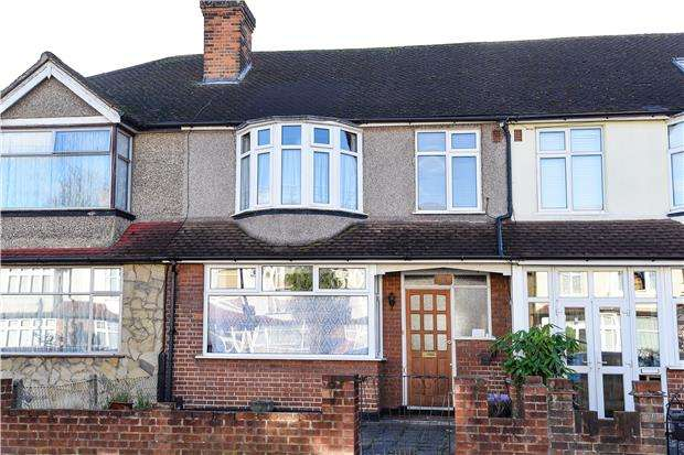 3 Bedrooms Terraced House for sale in Pentlands Close, MITCHAM, Surrey, CR4
