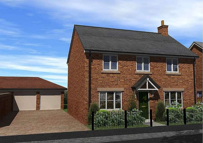 4 Bedrooms Detached House for sale in Irvine Gardens, St. Martins, Oswestry, Shropshire, SY11 3AX