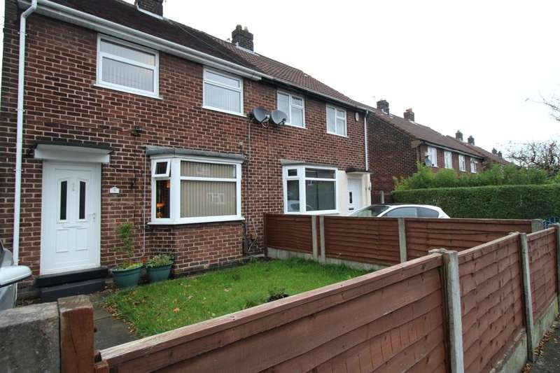 2 Bedrooms Semi Detached House for sale in Castleway, Clifton,Swinton, Manchester, M27