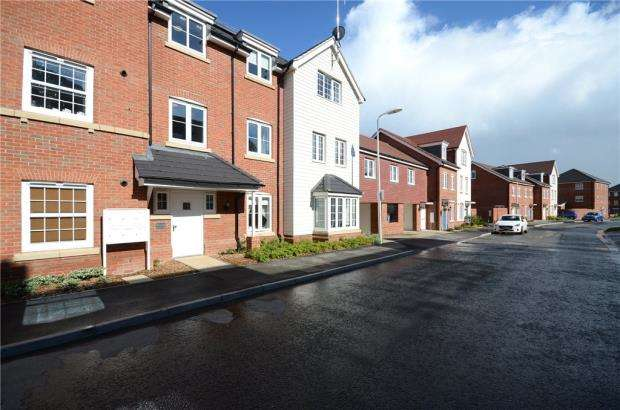 1 Bedroom Maisonette Flat for sale in Clover Rise, Woodley, Reading
