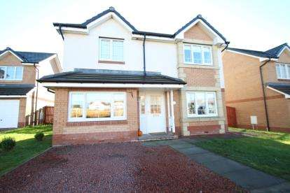 4 Bedrooms Detached House for sale in Croftcroighn Drive, Glasgow
