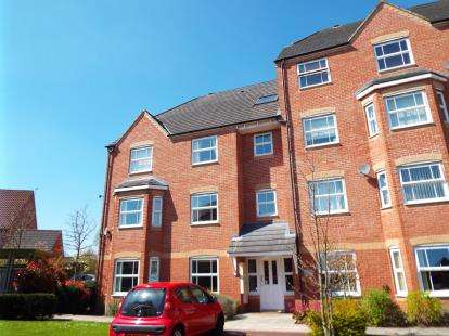 2 Bedrooms Flat for sale in Hertford Apartments, Templeton Drive, Warrington, Cheshire, WA2