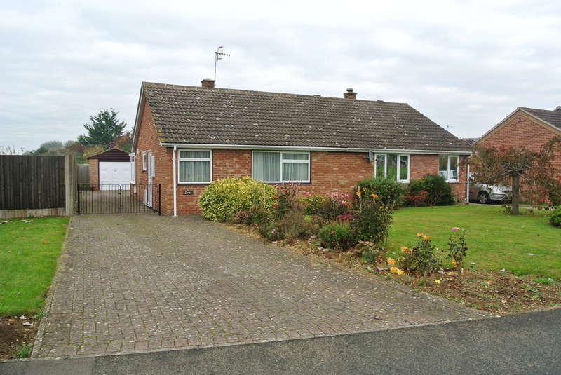 2 Bedrooms Semi Detached Bungalow for sale in Sally Close, Wickhamford