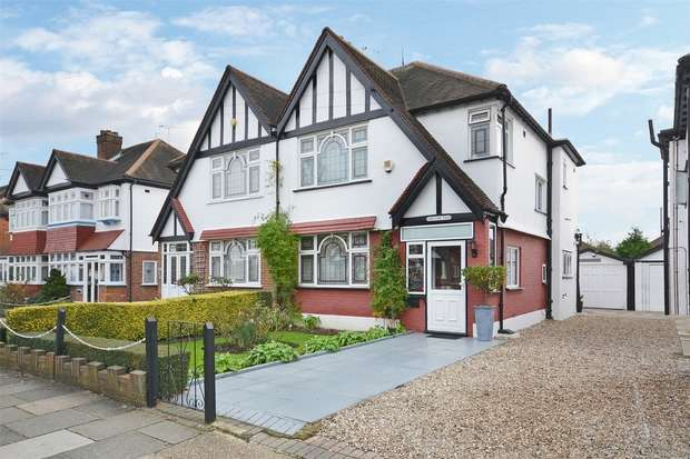 3 Bedrooms Semi Detached House for sale in The Fairway, WEMBLEY, Middlesex