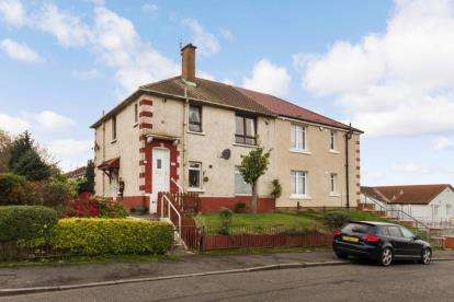 2 Bedrooms Flat for sale in Dinwiddie Street, Germiston, Glasgow