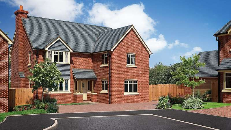 4 Bedrooms Detached House for sale in The Caldecott, The Beeches, Chester Road, Whitchurch, Shropshire, SY13 1NB