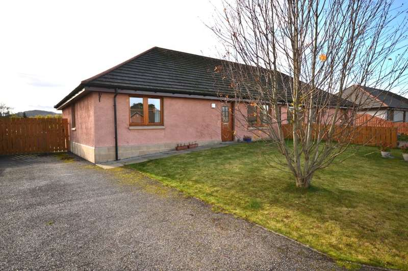 3 Bedrooms Semi Detached Bungalow for sale in Mansefield Park, Kirkhill, Inverness, IV5