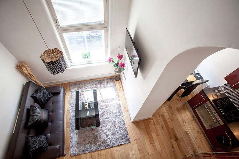 1 Bedroom Serviced Apartments Flat for rent in Britannia Buildings, St Peters Street, Huddersfield, HD1 1EX