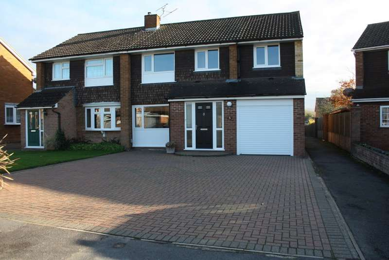 5 Bedrooms Semi Detached House for sale in Greenham Close, Woodley, Reading, RG5