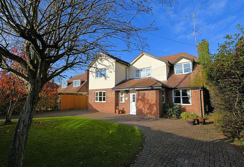 4 Bedrooms Detached House for sale in Blackberries Close, School Lane, Burghfield Common, Reading, RG7