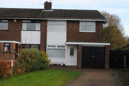 3 Bedrooms Semi Detached House for sale in Worsborough Avenue, Great Sankey, Warrington, Cheshire, WA5