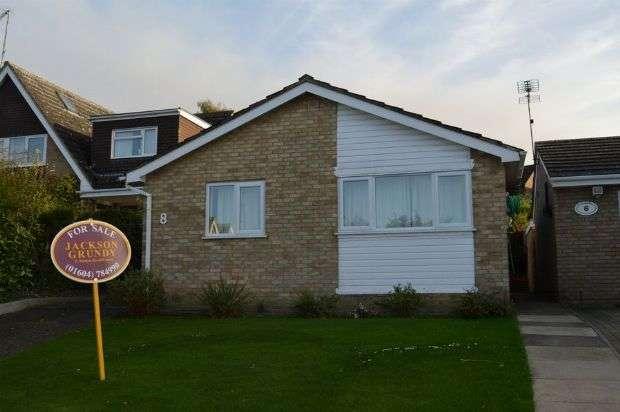 3 Bedrooms Detached Bungalow for sale in Burmans Way, Cogenhoe, Northampton NN7 1NZ