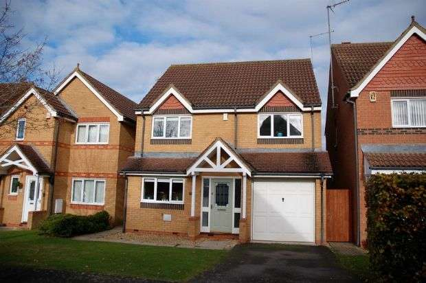 4 Bedrooms Detached House for sale in Burrows Vale, Brixworth, Northampton NN6 9US