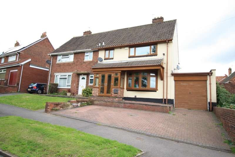 3 Bedrooms Semi Detached House for sale in Southbourne Avenue, Walsall, West Midlands, WS2