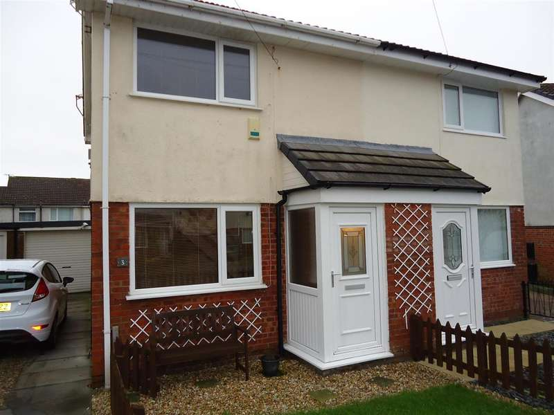 2 Bedrooms Semi Detached House for sale in Scales View, MILLOM