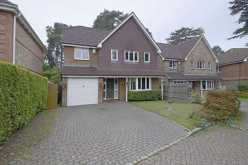 4 Bedrooms Detached House for sale in Butler Road, Bagshot, Surrey, GU19