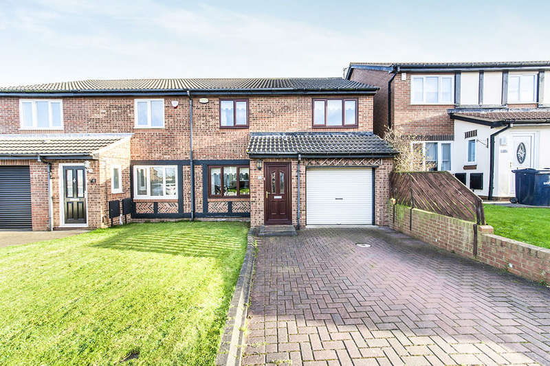 4 Bedrooms Semi Detached House for sale in Craigwell Drive, Thristley Wood, Sunderland, SR3